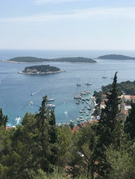 Hvar from the fortress